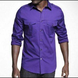 Express Men's MK2 dress shirt